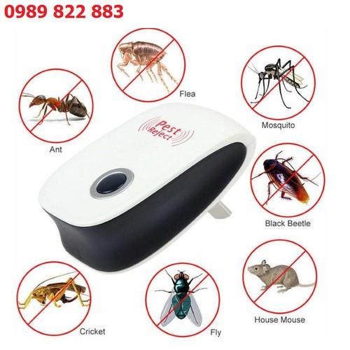 Máy đuổi côn trùng pest reject bằng sóng siêu âm - máy đuổi muỗi, ruồi, gián...