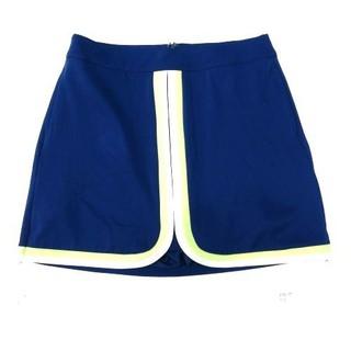 TH7973 Quần giả váy nữ xanh dương viền sọc trắng vàng Lady Hagen WGH17148 - TH7973 thumbnail