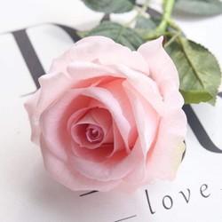 Hoa hồng lụa . hoa giả