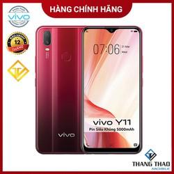 Điện thoại Vivo Y11 3GB 32GB Đỏ Pin 5000mah - Hàng chính hãng