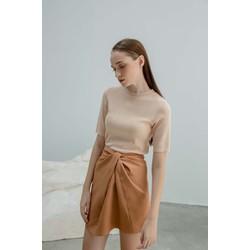 Váy Mini Nâu Xoắn - COCOSIN