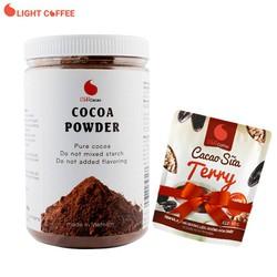 [Quà đỉnh 0Đ] Cacao nguyên chất hũ 350g - Tặng Cacao sữa Terry 50g