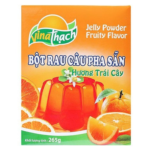 Bột rau câu trái cây vị cam vina thạch hộp 265g - 20743895 , 23739512 , 15_23739512 , 42500 , Bot-rau-cau-trai-cay-vi-cam-vina-thach-hop-265g-15_23739512 , sendo.vn , Bột rau câu trái cây vị cam vina thạch hộp 265g