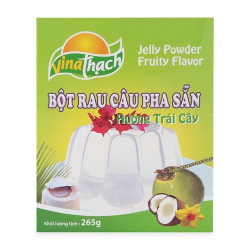 Bột rau câu trái cây vị dừa vina thạch hộp 265g - 20744379 , 23740304 , 15_23740304 , 42500 , Bot-rau-cau-trai-cay-vi-dua-vina-thach-hop-265g-15_23740304 , sendo.vn , Bột rau câu trái cây vị dừa vina thạch hộp 265g