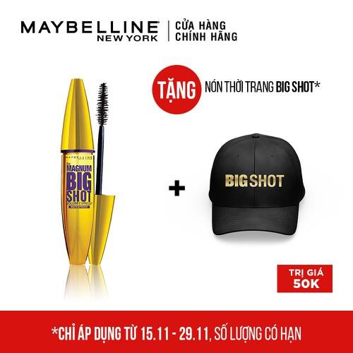 [Quà đỉnh 0đ] mascara dày mi cực đại maybelline new york magnum bigshot 9.2ml - tặng nón lưỡi trai maybelline magnum - 17573434 , 23747141 , 15_23747141 , 175000 , Qua-dinh-0d-mascara-day-mi-cuc-dai-maybelline-new-york-magnum-bigshot-9.2ml-tang-non-luoi-trai-maybelline-magnum-15_23747141 , sendo.vn , [Quà đỉnh 0đ] mascara dày mi cực đại maybelline new york magnum big
