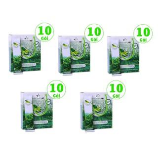 Combo 5 hộp cà phê xanh giảm cân kháng mỡ Thiên Nhiên Việt - hộp 10 gói - Combo 5 hộp 10 gói cà phê thumbnail