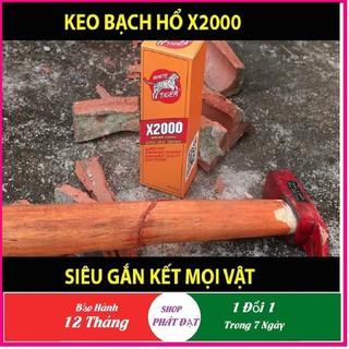 Keo dán X2000, Keo dán đa năng siêu dính X2000 dán được mọi vật liệu Keo dán gỗ, thủy tinh, kim loại, sắt, gốm sứ, nhựa ..vv - Keo X2000 thumbnail