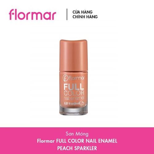 Sơn móng flormar màu peach 8ml