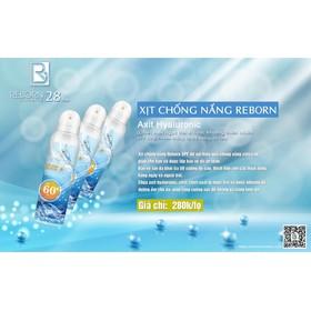 Xịt chống nắng Reborn COSMETIC  - XCN 009