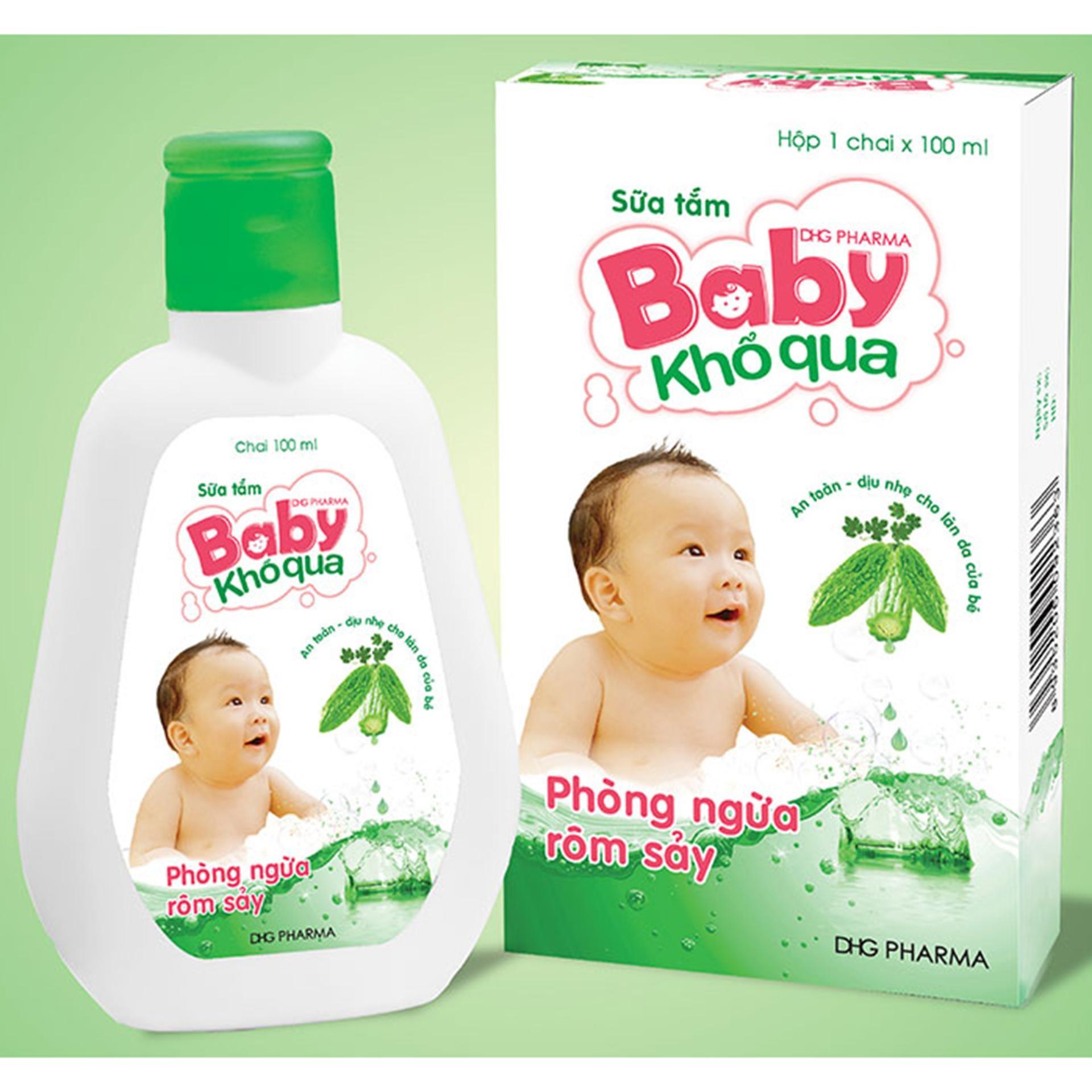 Sữa tắm baby khổ qua