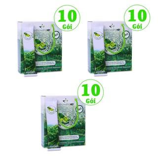 Combo 3 hộp cà phê xanh giảm cân kháng mỡ Thiên Nhiên Việt - hộp 10 gói - Combo 3 hộp 10 gói cà phê xanh thumbnail