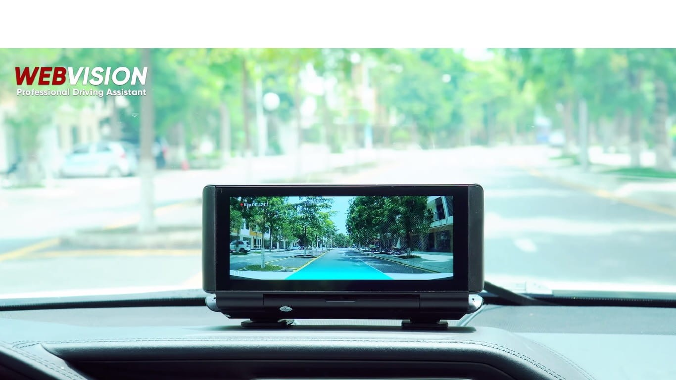 Camera hành trình WEBVISION N93X Màn hình Android đa năng