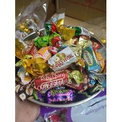 Kẹo Nga mix 12 vị đóng gói 500g - mix theo yêu cầu của khách hàng Nga