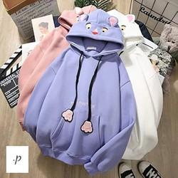 áo hoodie nữ tai thỏ
