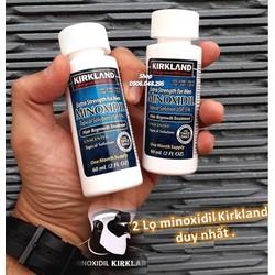 Không có Ống ML ! GIÁ CỰC TỐT. Thuốc mọc Tóc , mọc Râu Minoxidil Kirkland từ Hoa Kỳ - Bộ gồm 2 chai ( Date : 08 / 2022 ) . .