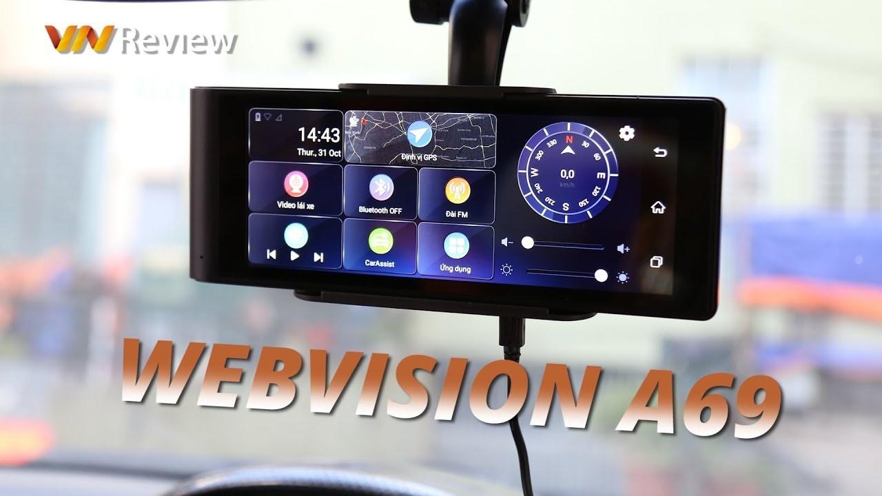 Camera hành trình Webvision A69 Siêu phẩm