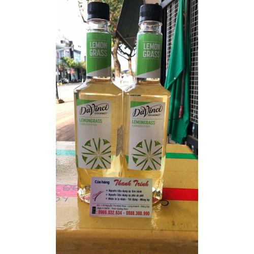 Syrup davinci lemongrass