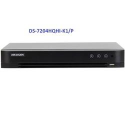 Đầu ghi hình Hybrid TVI-IP 4 kênh TURBO 4.0 HIKVISION DS-7204HQHI-K1-P