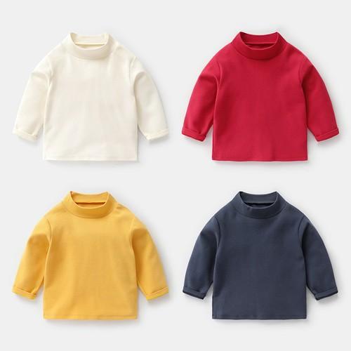 Sét 4 áo thun dài tay thời trang cho bé yêu
