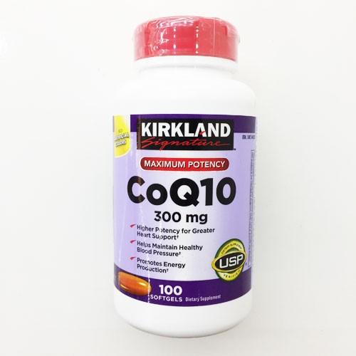 Viên uống hỗ trợ tim mạch coq10 300mg kirkland 300 viên