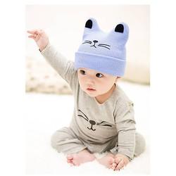 mũ len cho em bé