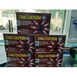 Oncolysin phòng ngừa và hỗ trợ điều trị ung thư