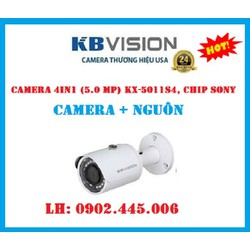CAMERA CHIP SONY , 4 IN 1 KX-5011S4+ NGUỒN