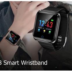 Đồng hồ thông minh d28 chống nước IP67 kết nối Bluetooth theo dõi sức khỏe