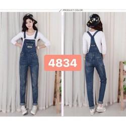 quần yếm jean thời trang