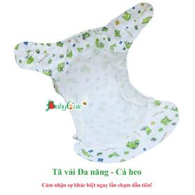 Combo 2 bộ tã vải BabyCute ban Ngày Đa năng size M 8-16kg - TẶNG 1 Quần bỏ bỉm cotton - 2 DN M ngay - Tang 1 BCT