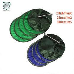 Túi đựng cá mắt lưới nhỏ giá rẻ [Xả hàng 3 ngày] , giỏ đựng cá , phụ kiện câu cá - đồ câu duli