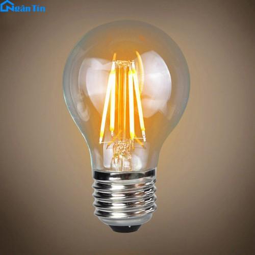 Bộ bóng đèn led đèn edison vintage 4w e27 220v b251 ngân tín