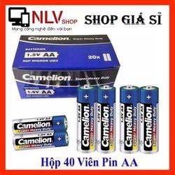 [ĐƯỢC XEM HÀNG] Hộp 40 Viên Pin Tiểu AA {2A} Camelion Super Heavy Duty Battery 1.5V