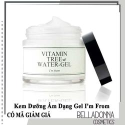Kem Dưỡng Ẩm Dạng Gel I'm From Vitamin Tree Water Gel 75g