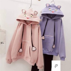 áo hoodie tai thỏ
