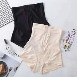 quần gel nịt bụng lụa đai khóa