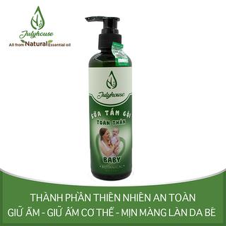 Sữa tắm gội toàn thân cho em bé chiết xuất tinh dầu Gừng và Vỏ Bưởi JULYHOUSE 250ml - MOM.SHO250 thumbnail