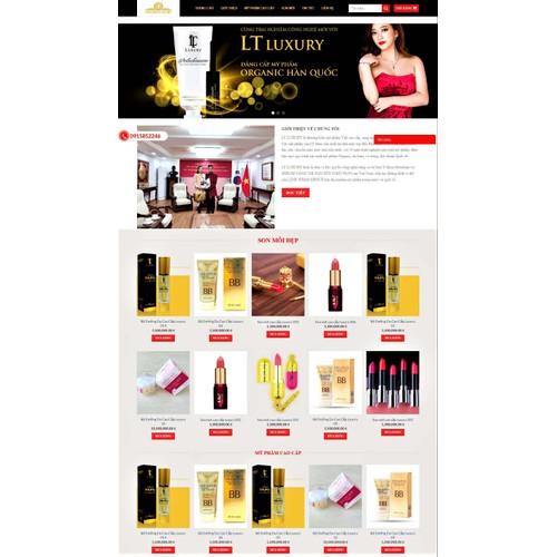 Thiết kế web trọn gói- mẫu website bán mỹ phẩm - 19291022 , 23267261 , 15_23267261 , 5000000 , Thiet-ke-web-tron-goi-mau-website-ban-my-pham-15_23267261 , sendo.vn , Thiết kế web trọn gói- mẫu website bán mỹ phẩm