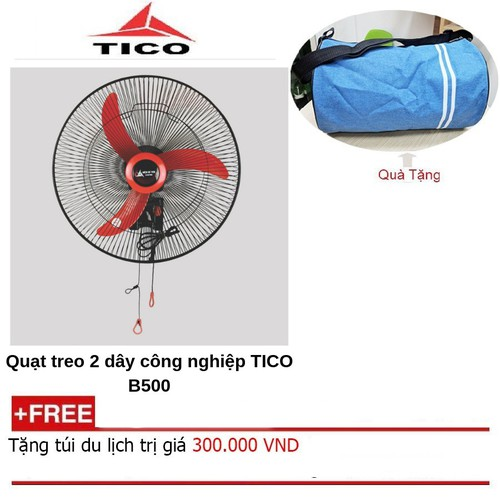 Quạt treo công nghiệp tico b500