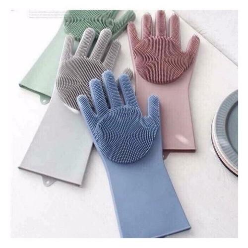Bộ 2 găng tay rửa bát silicon tạo bọt đa năng - 20458083 , 23272574 , 15_23272574 , 133000 , Bo-2-gang-tay-rua-bat-silicon-tao-bot-da-nang-15_23272574 , sendo.vn , Bộ 2 găng tay rửa bát silicon tạo bọt đa năng