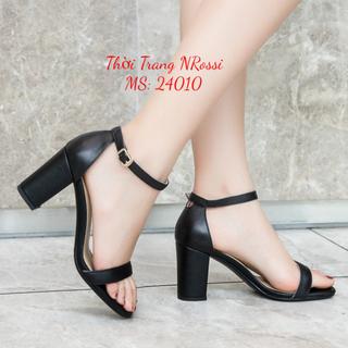 Giày cao gót nữ ngoại cỡ 7 cm quai ngang size 40 đến 43 - 24010 NRossi [ĐƯỢC KIỂM HÀNG] 23257774 - 23257774 thumbnail