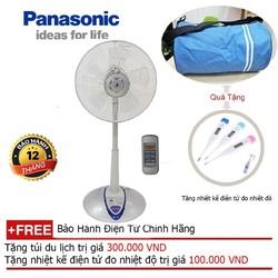 Quạt đứng lửng gia dụng Panasonic F307 KH Quà tặng áo mưa