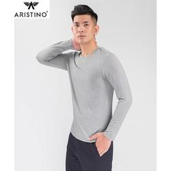 Áo Giữ Nhiệt Thời Trang Nam Aristino ALT003W8 - Phom Body fit Ôm Sát Và Tôn Dáng.