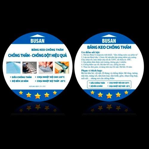 Băng keo siêu chống thấm siêu dính vá lỗ thủng, khe nứt trong mọi điều kiện môi trường, siêu chống thấm