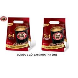 [Trợ ship 15K] Combo 2 Túi Cà phê hòa tan 3in1 Highland Coffee 40 gói - 17g