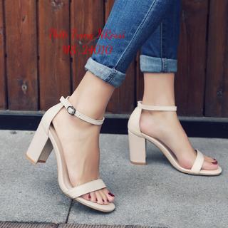 Giày cao gót nữ ngoại cỡ 7 cm quai ngang size 40 đến 43 - 24010 NRossi - 24010 NRossi. thumbnail
