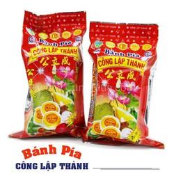 Combo 2 gói Bánh Pía Đậu Xanh Sầu Riêng 300g