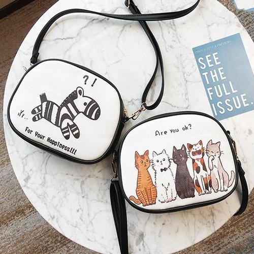Túi hộp hoạt hình đáng yêu txn79 - túi đeo chéo - túi hộp đeo chéo - túi đeo chéo nữ - túi nữ hoạt hình đáng yêu - h1vrg001