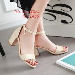 HỖ TRỢ PHÍ SHIP-Giày sandal nữ gót vuông 5cm siêu xinh