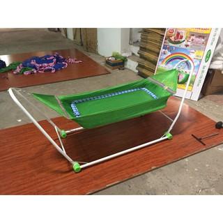 Nôi Điện Võng Xếp 2 Trong 1 Khánh Ngọc Tặng Kèm Võng Màn Chống Muỗi Cho Bé - 64236452 thumbnail